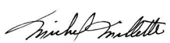 Signature of Michel Millette