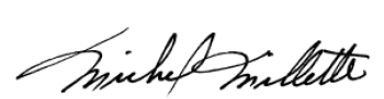 Signature de Michel Millette
